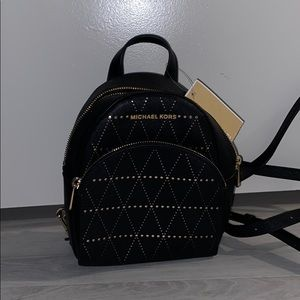 MICHAEL KORS ABBEY BACKPACK LEATHER XS